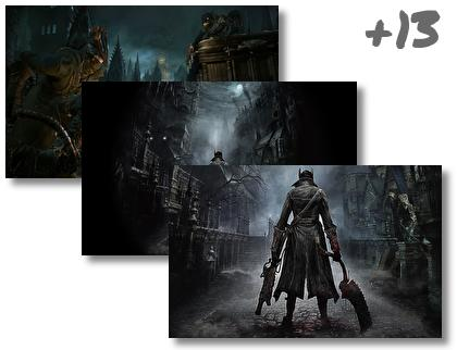 Bloodborne theme pack