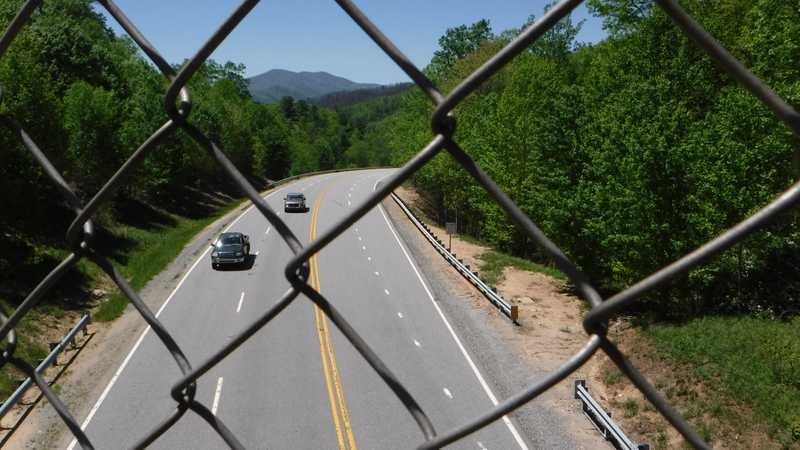 Bridge over U.S. 25/70