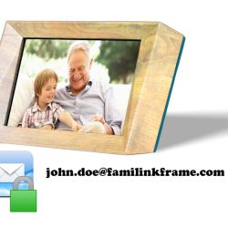 A Digital Frame with an Email Address