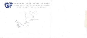 General Foam Plastics Envelope preview