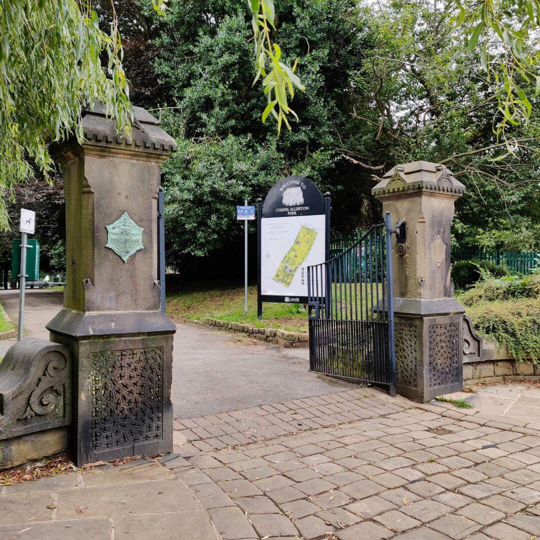 Chapel Allerton Park Entrance