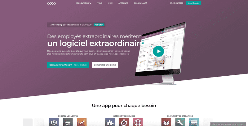 Preview Odoo