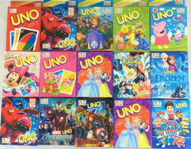 Fake Uno Card Games