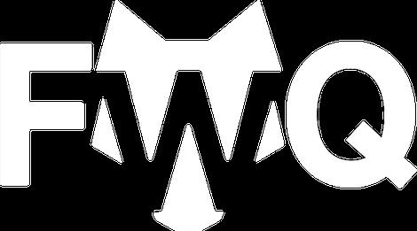 Floating Wolf Quarterly logo white