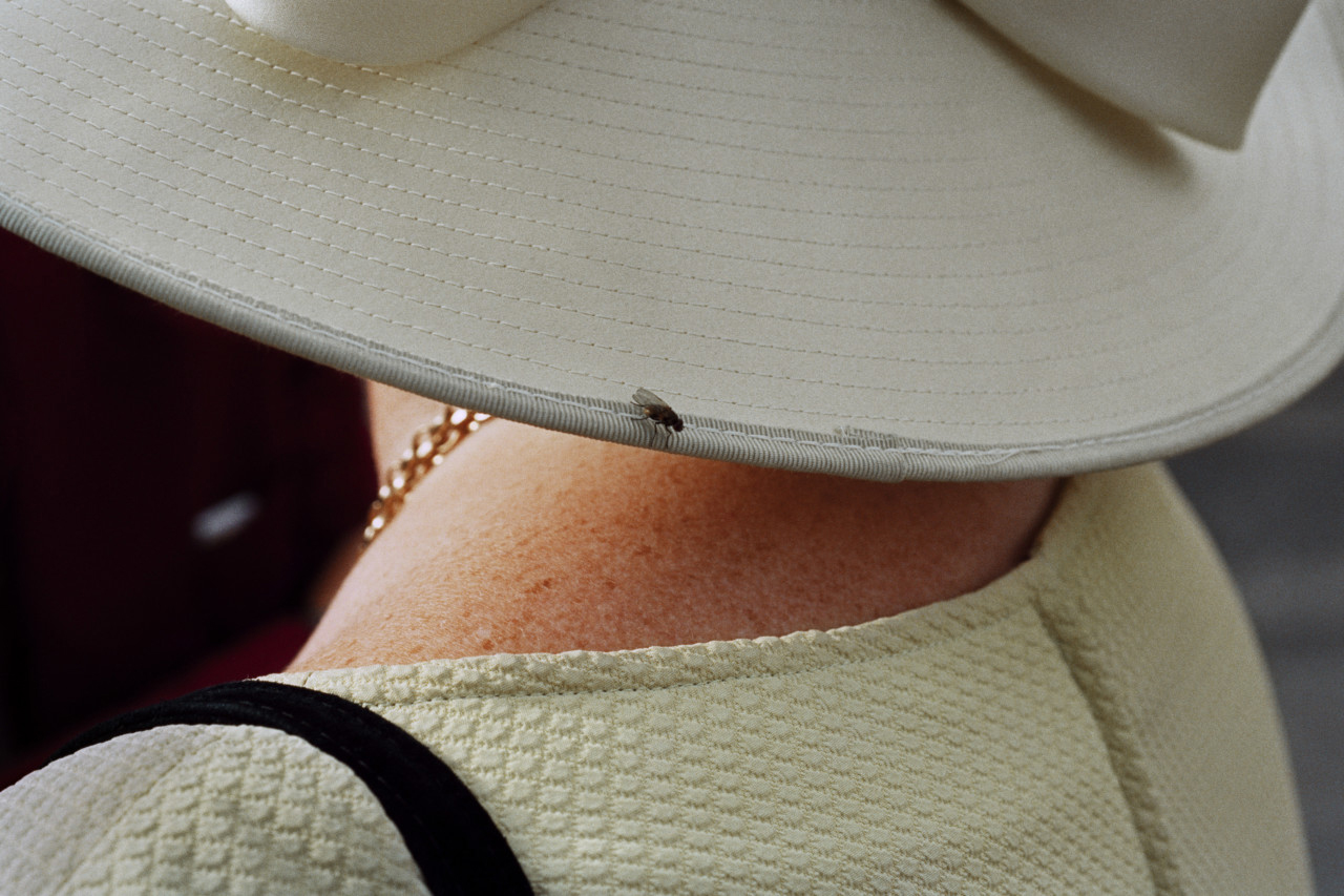 Martin Parr, Galway Races. Ireland 1997. From Luxury. Courtesy of Magnum Photos