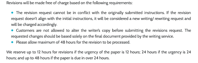 writemypaper4me.org has a good revision policy