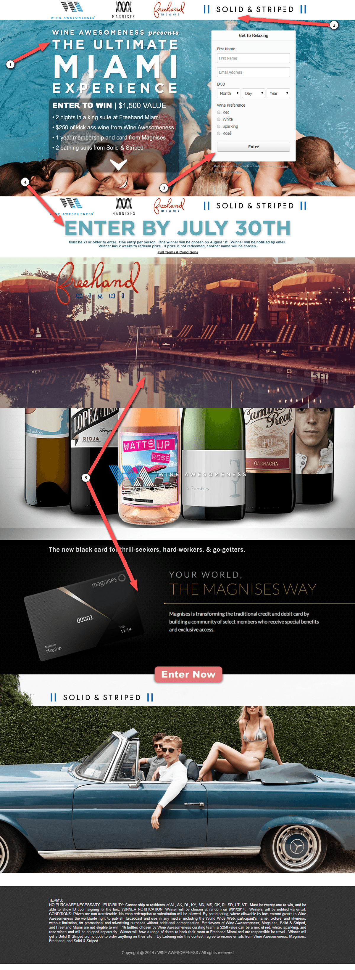 Wine Awesomeness Landing Page Review