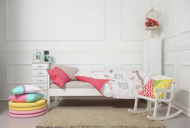 Converting baby crib into toddler bed