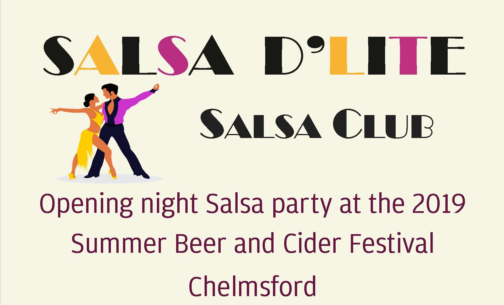 Salsa D'Lite are performing a salsa dance party on the opening night of the festival