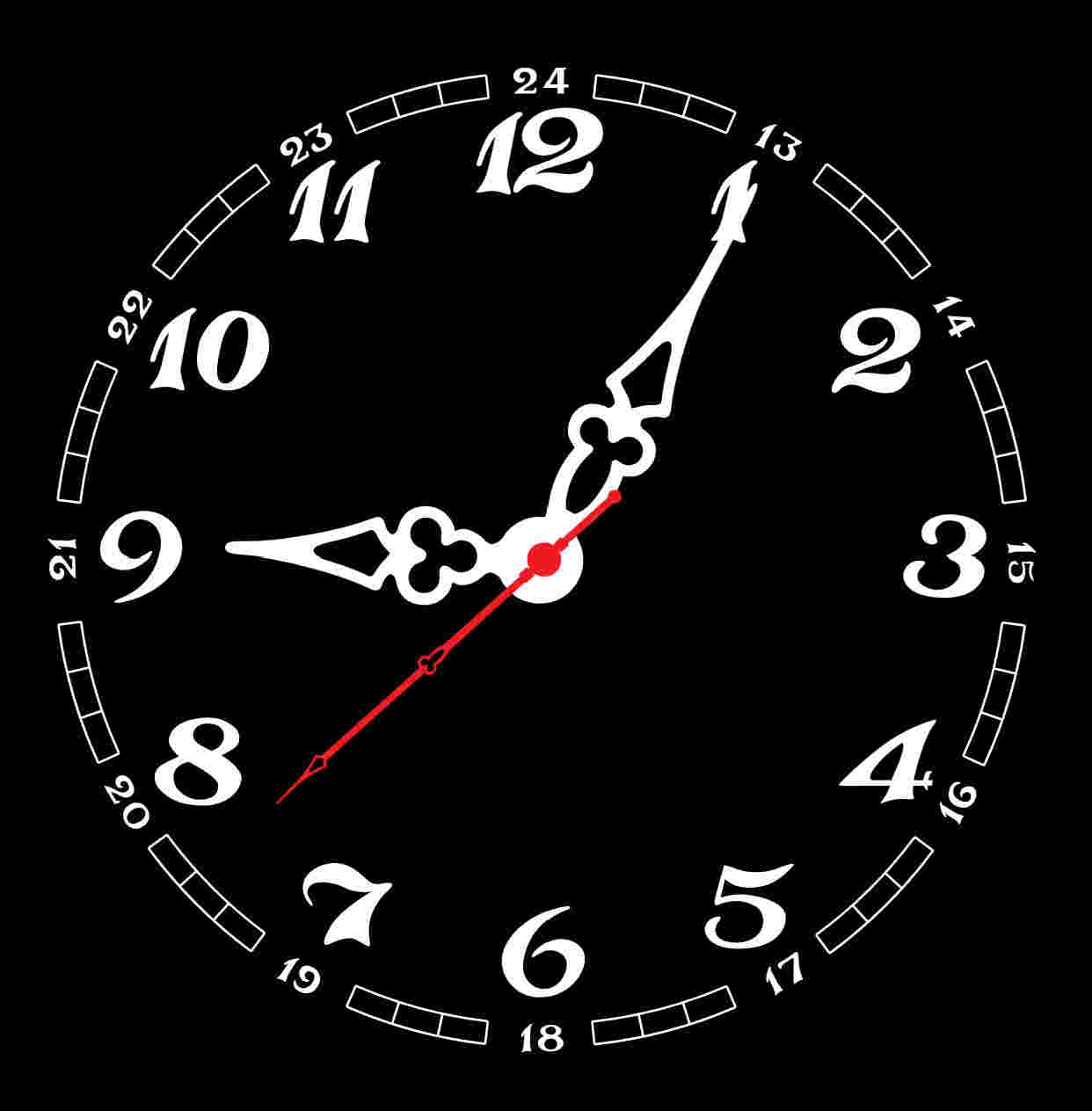 analog clock screensot