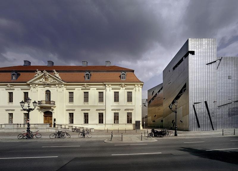Jewish Museum in Berlin designed by Daniel Libeskind