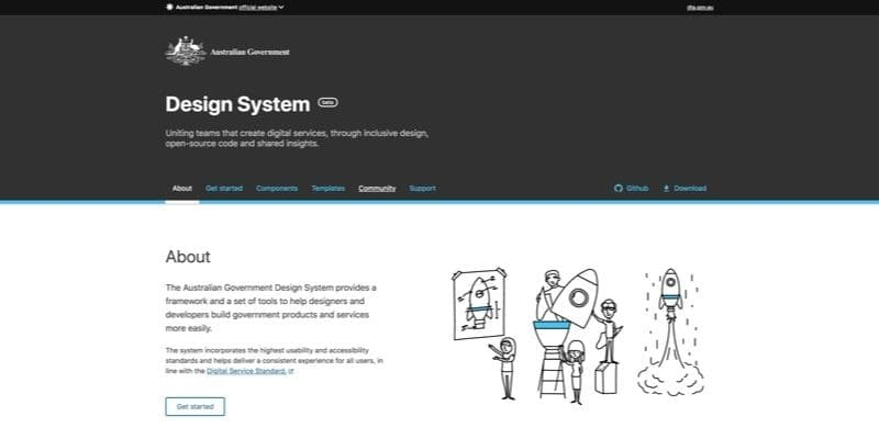 Australian Government Design System