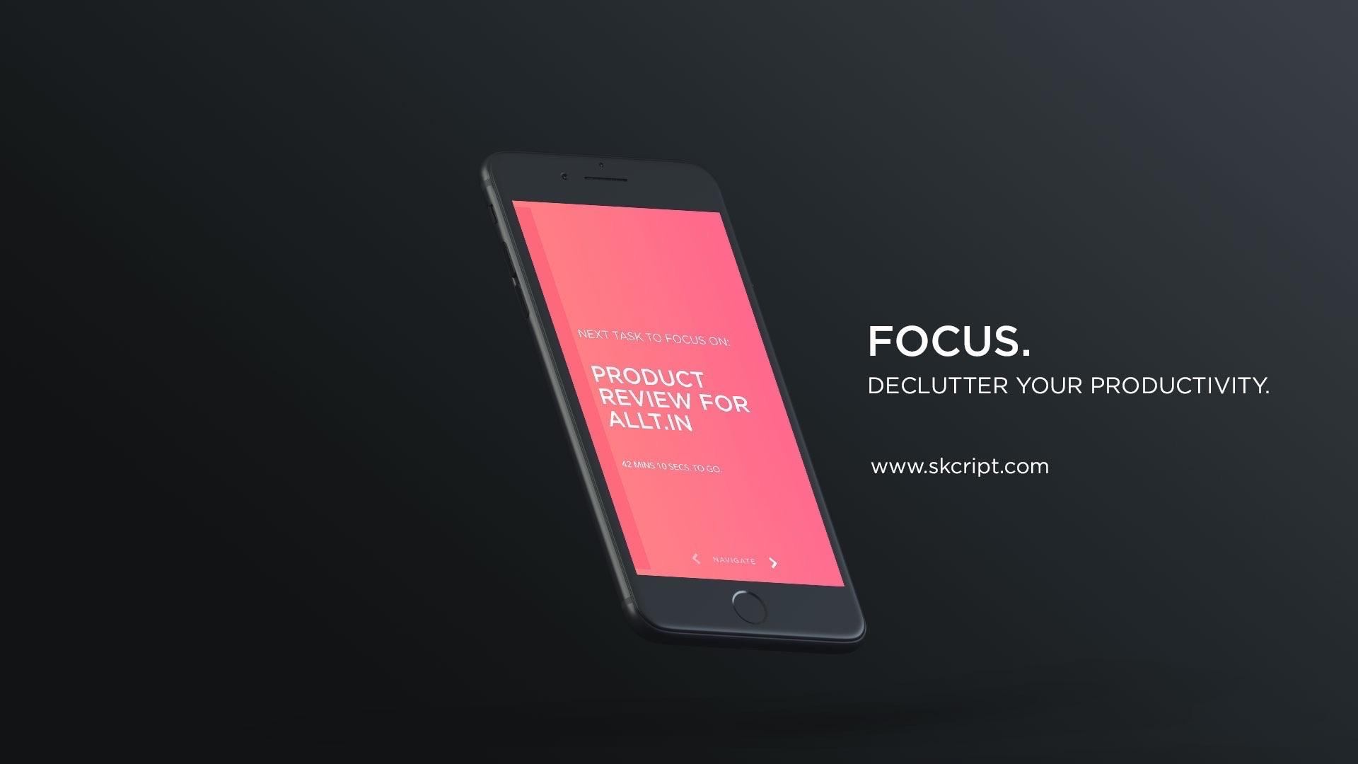 Focus. for iOS