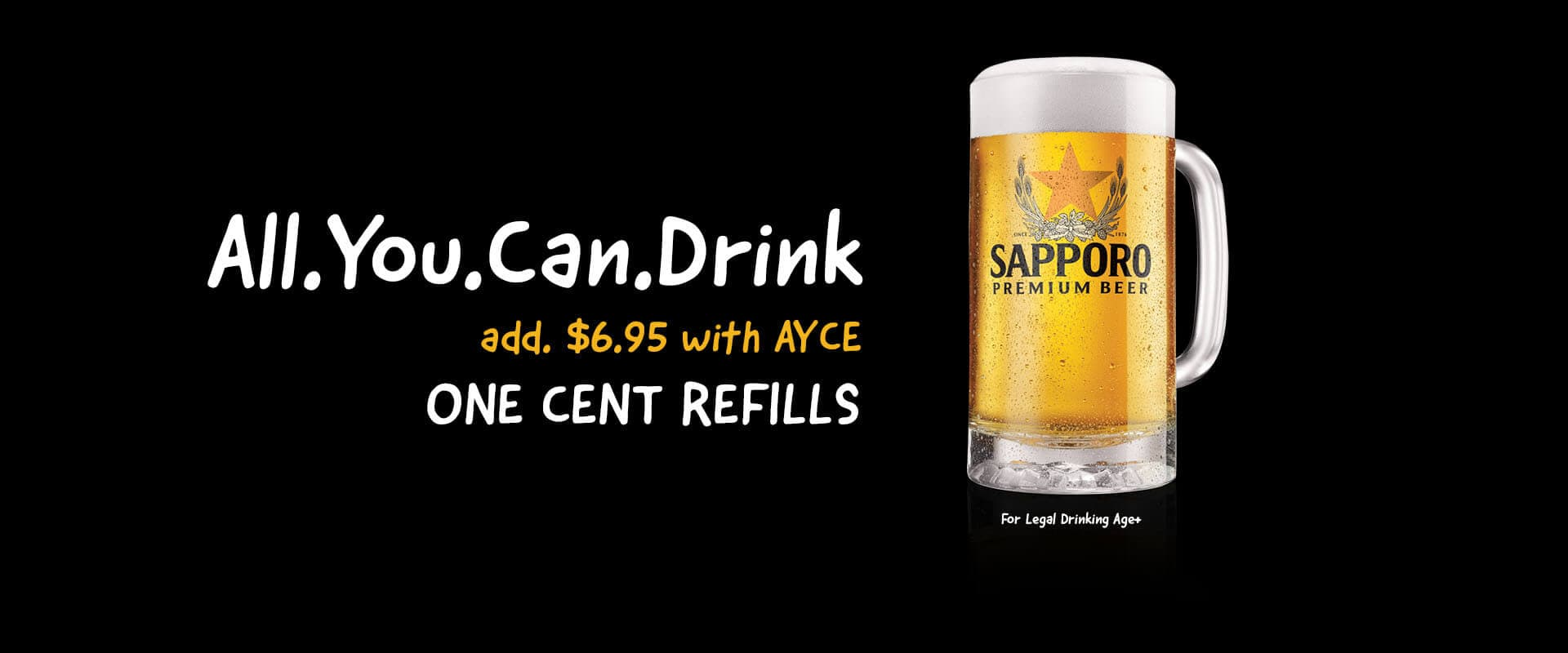 All You Can Drink: Draft Beer