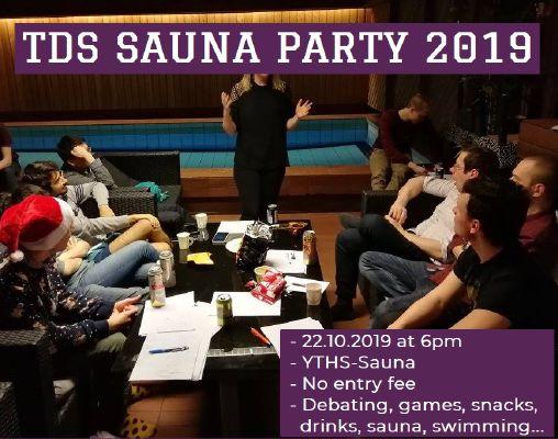 TDS Sauna Party 2019