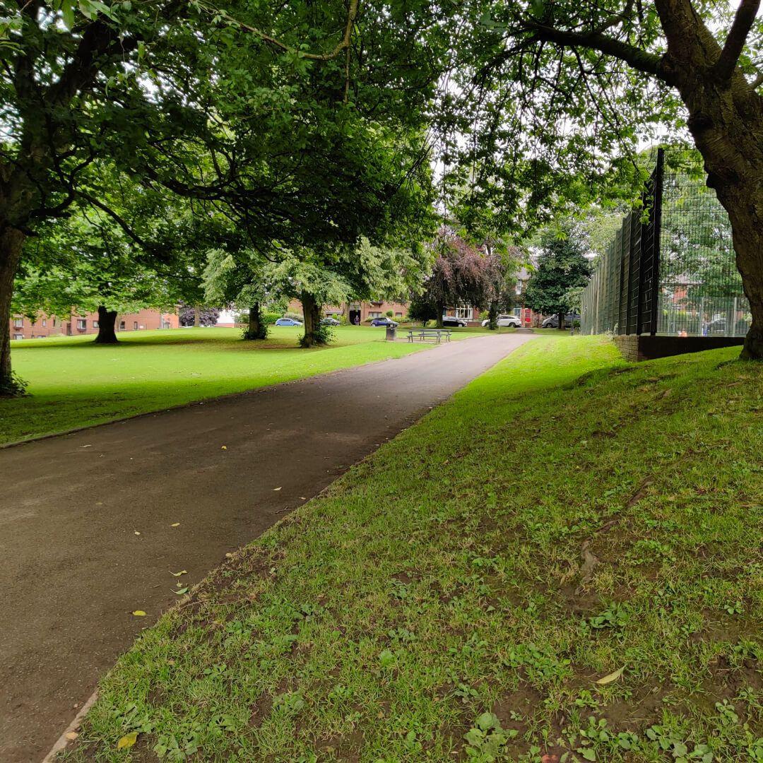 Chapel Allerton Park Path