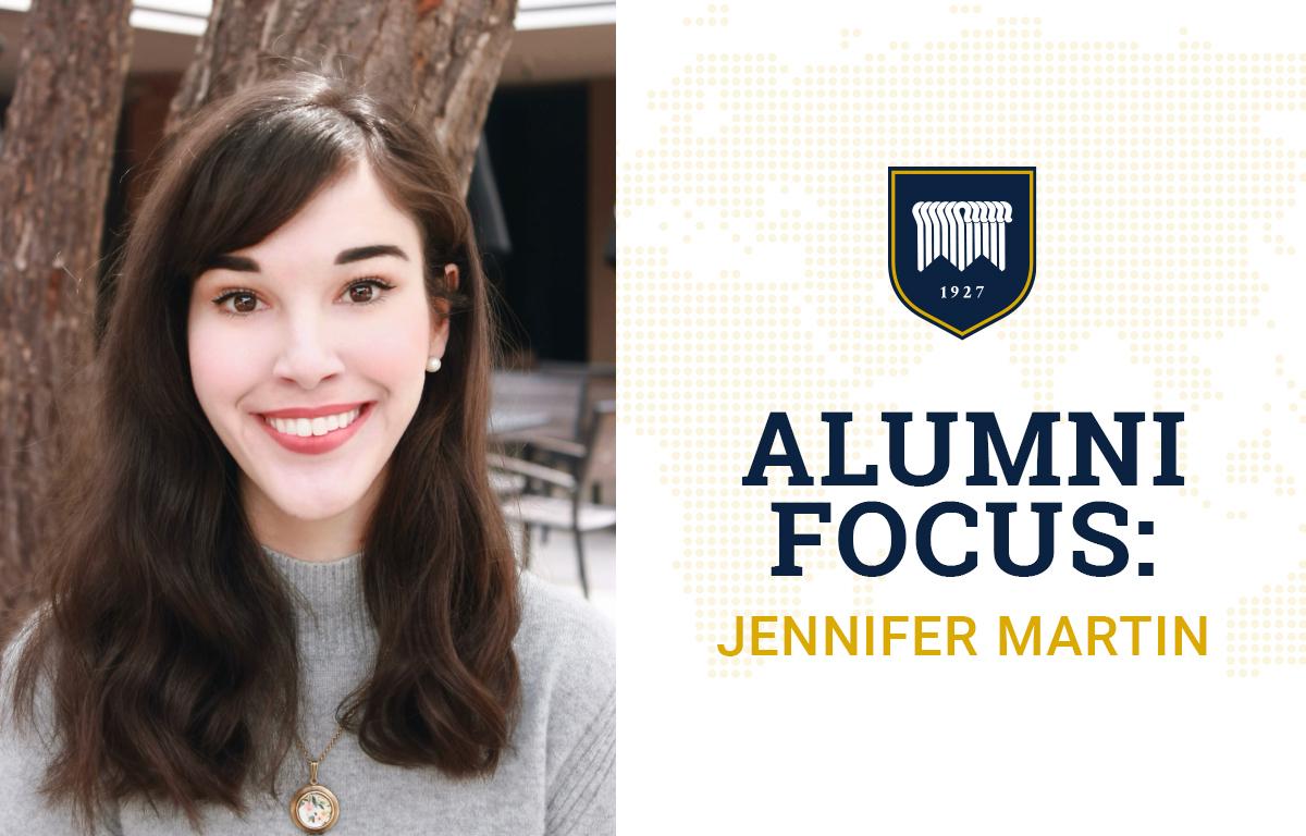 Alumni Focus: Jennifer Martin image