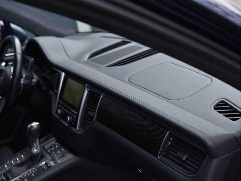 Porsche Macan 3.6 Turbo PDK 400pk Lucht Carbon Pano Zetels-18-weg Alcant.hemel Led Leder-dash afbeelding 24