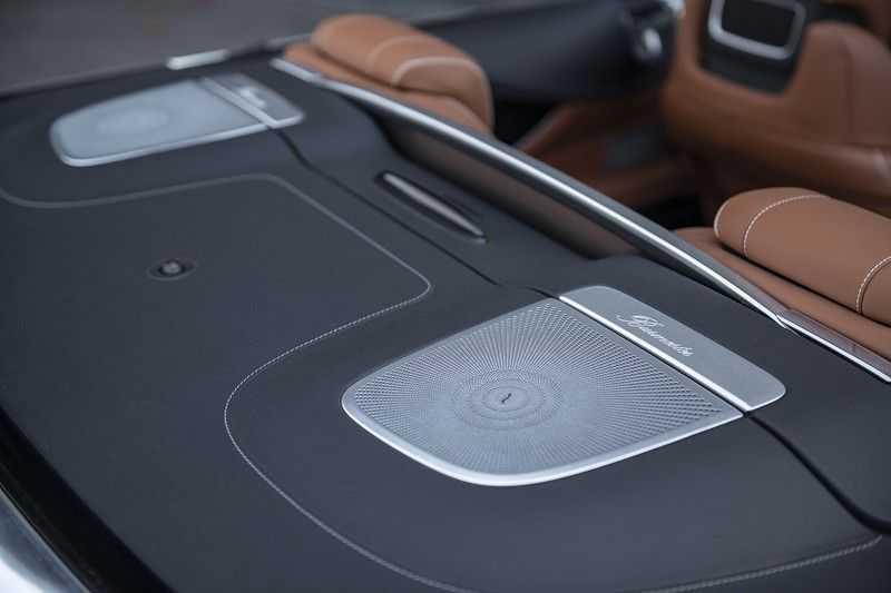 Mercedes-Benz S63 Cabrio 63 AMG 4Matic DISTRONIC + BTW + BURMESTER afbeelding 24