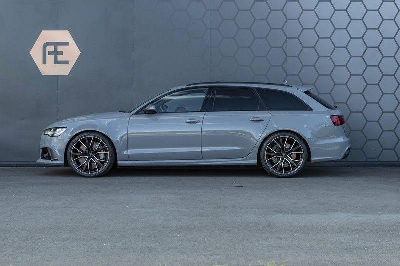 Audi RS6 Performance Pro Line Plus 4.0 TFSI quattro 605PK BTW + Keramisch + Carbon + Nardo Grey + Panoramadak + 4 nieuwe banden afbeelding 2
