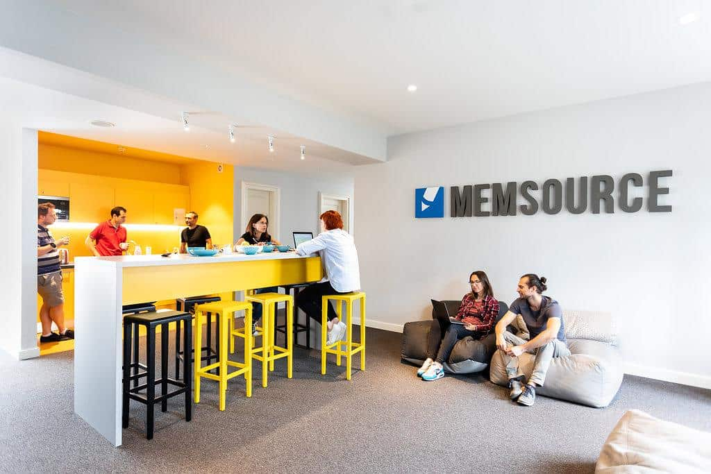 Chill area in Memsource office
