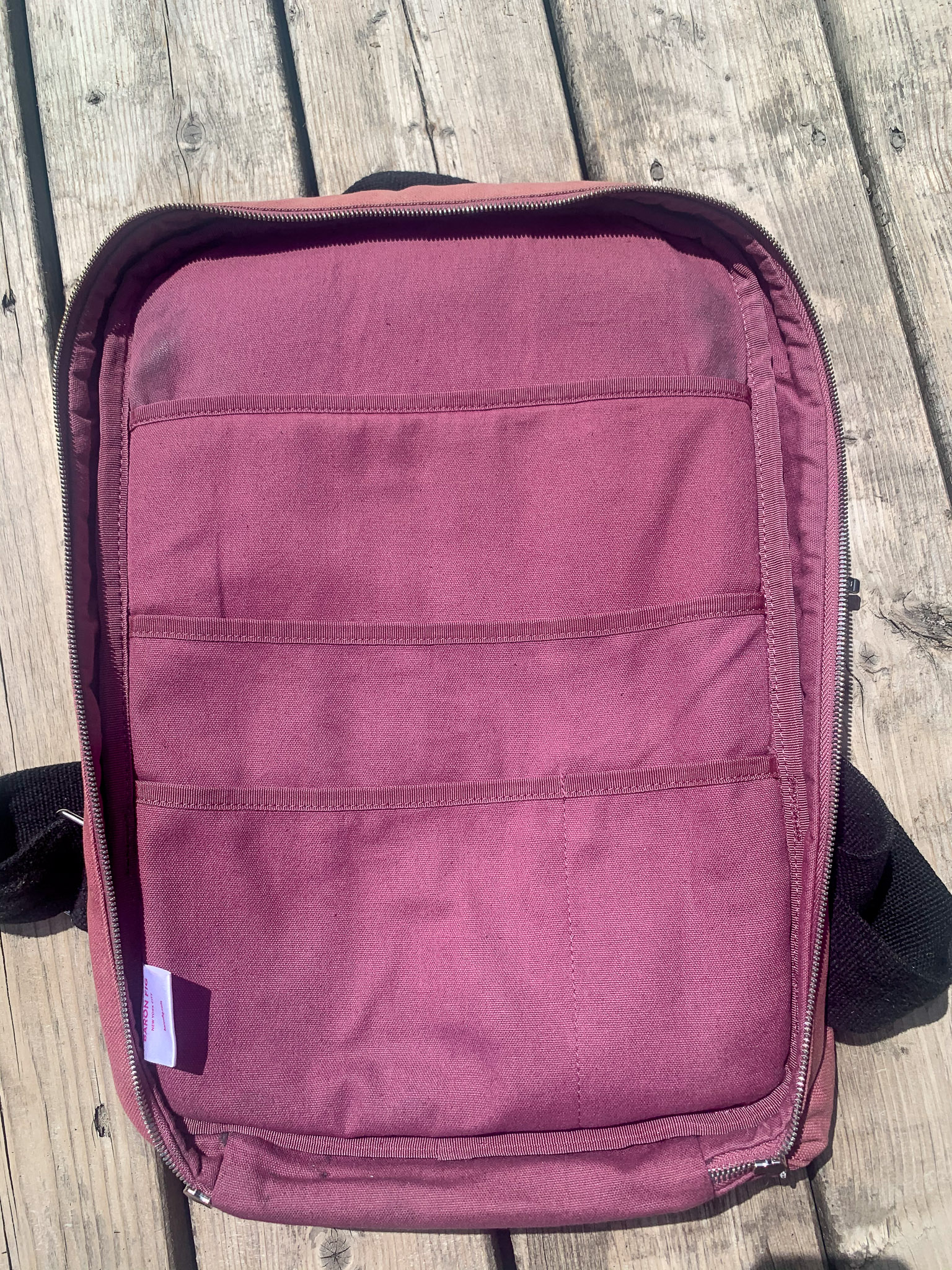 Baron Fig Bag Empty