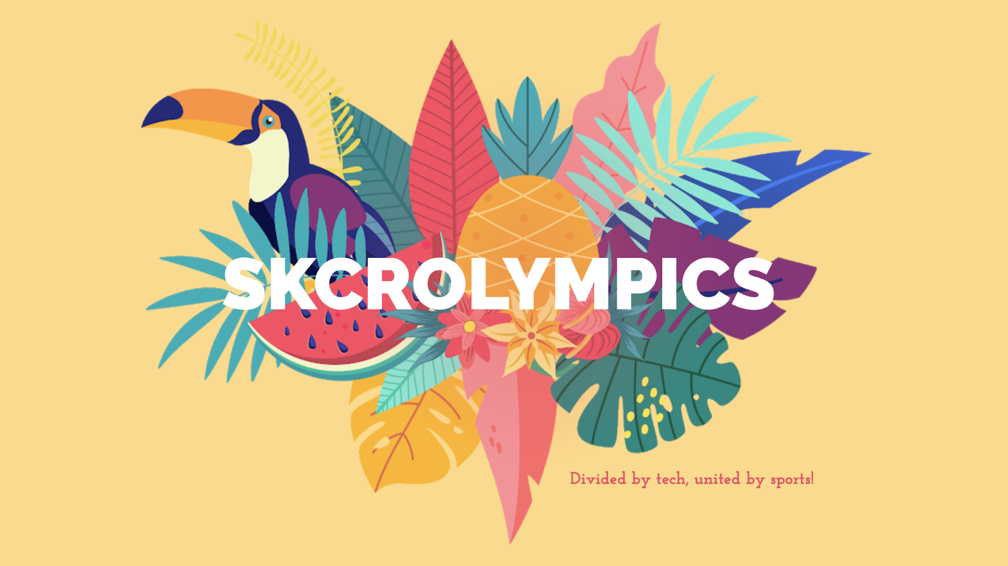 Bored at work? Try Skcrolympics!