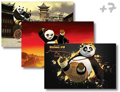 Kung Fu Panda 2 theme pack