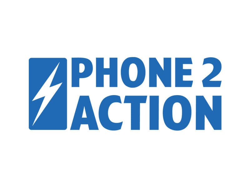 logo for phone2action