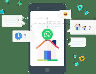 Inmobiliarias en WhatsApp