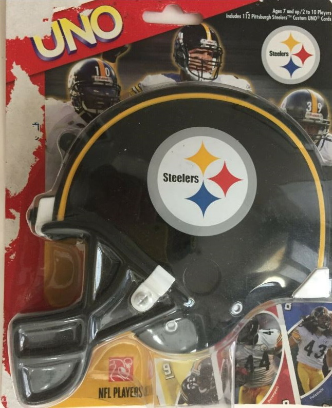 Pittsburgh Steelers Uno