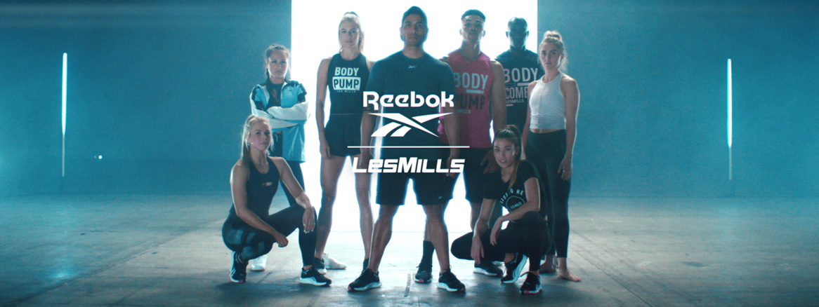 Les Mills and Reebok SS20 Campaign group still