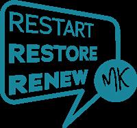 restart restore renew mk logo