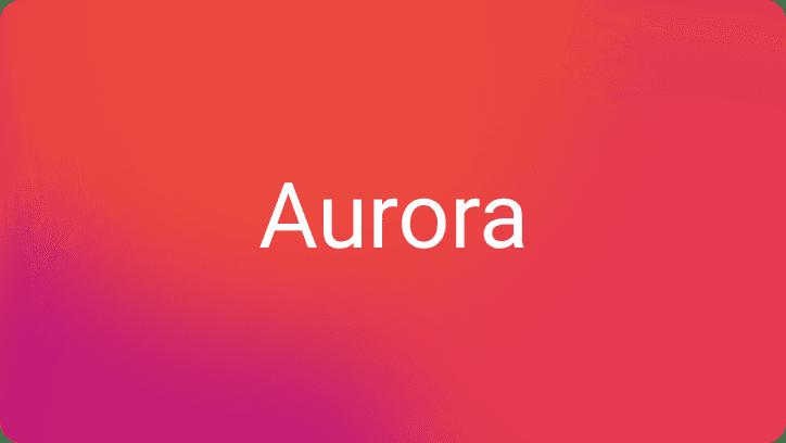 Aurora UI example of usage
