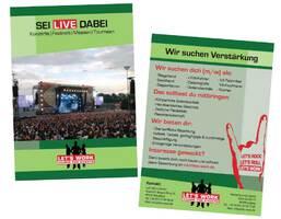 Flyer zur Personal Recruitierung der Let's Work GmbH