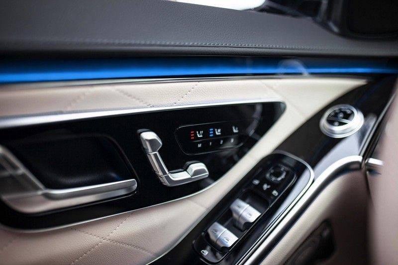 "Mercedes-Benz S-Klasse 500 4Matic Lang AMG NP €193.000 *Pano / 3D Burmester / HUD / Distronic / 21"" / 3D Display* afbeelding 25"
