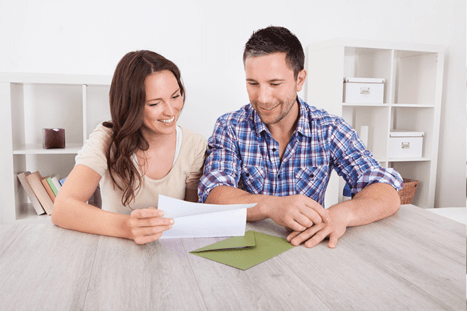 A couple taking control of their wealth through goal setting