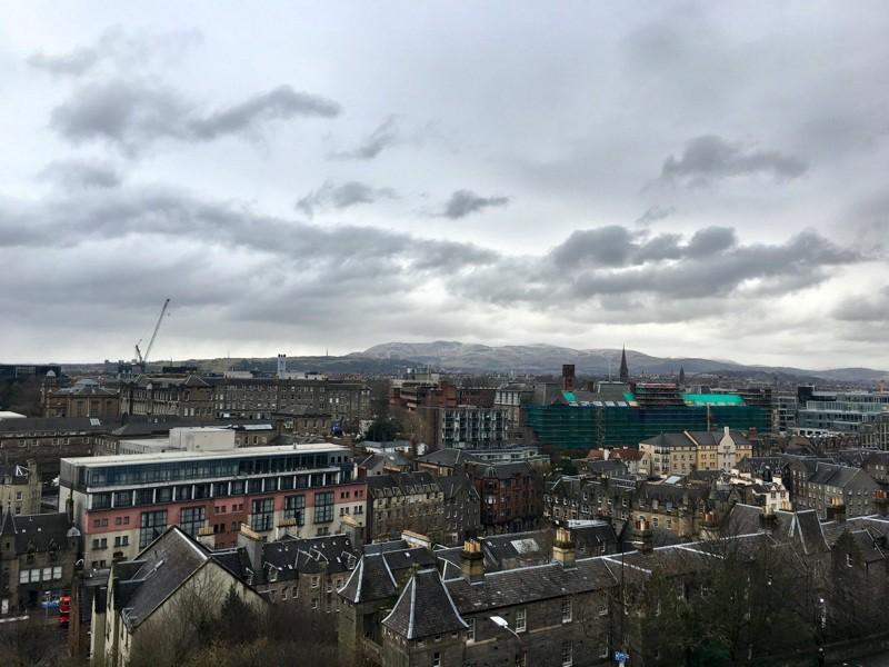 Edinburgh, Scotland, United Kingdom—11 Feb 2017