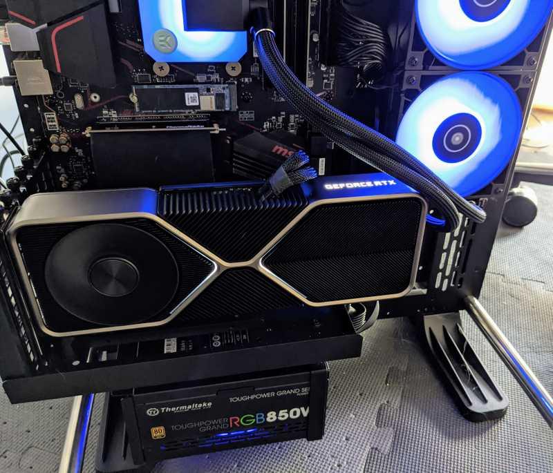 nvidia rtx 3080 installed