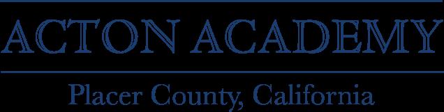 Acton Academy Placer Logo