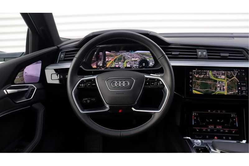Audi e-tron Sportback 55 quattro S line excl. BTW Panoramadak, S Sportstoelen, Head Up display afbeelding 22