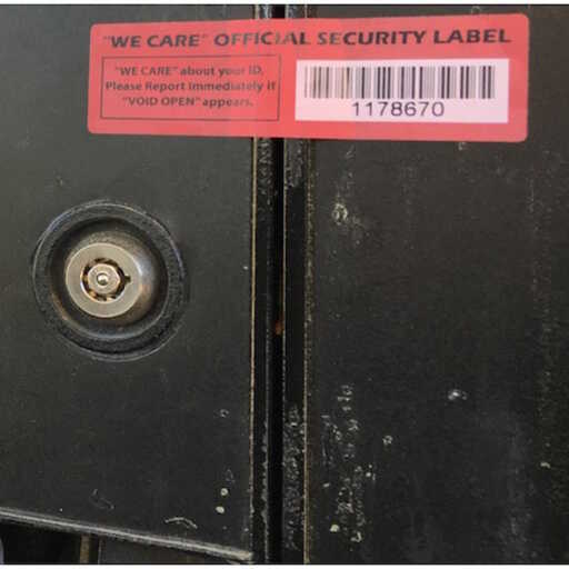 Security Label Daily Checklist