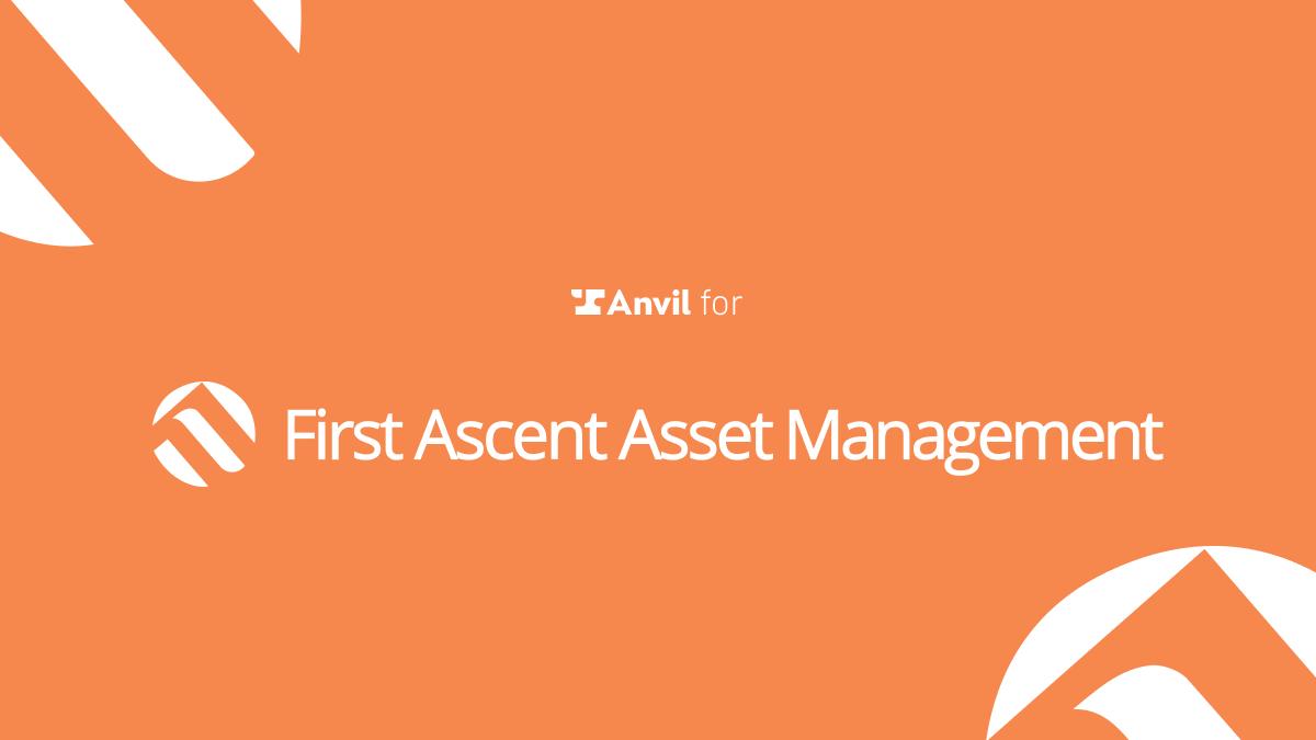 Case Study: Asset Management - First Ascent Asset Management - Logo