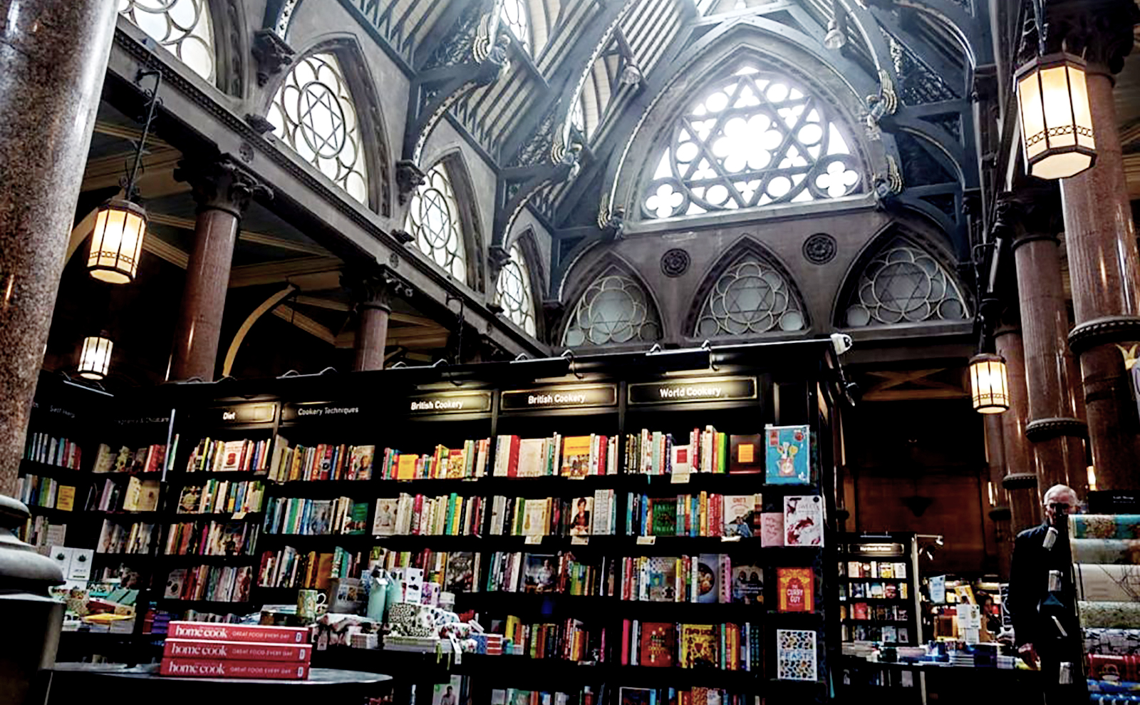 Waterstones in Bradford, UK is a Cathedral of Books
