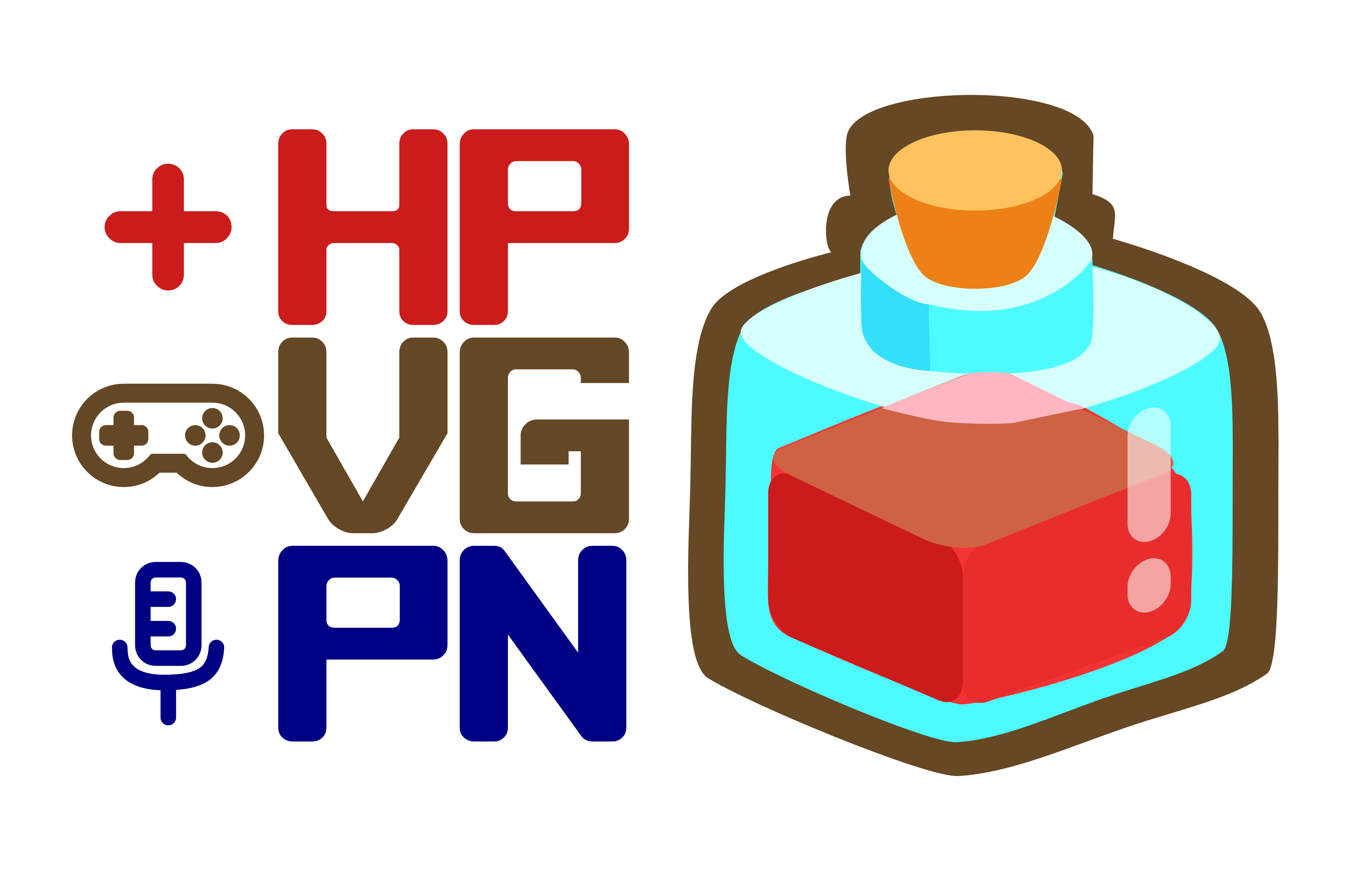 The logo for the HP Video Game Podcast Network.