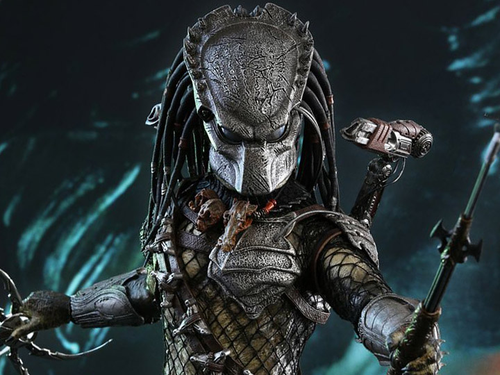 Hot Toys Aliens vs. Predator: Requiem MMS443 Wolf Predator (Heavy Weaponry) 1/6th Scale Collectible Figure