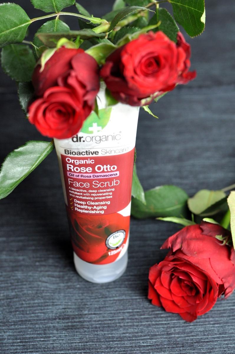 Dr.Organic Rose Otto Face Scrub