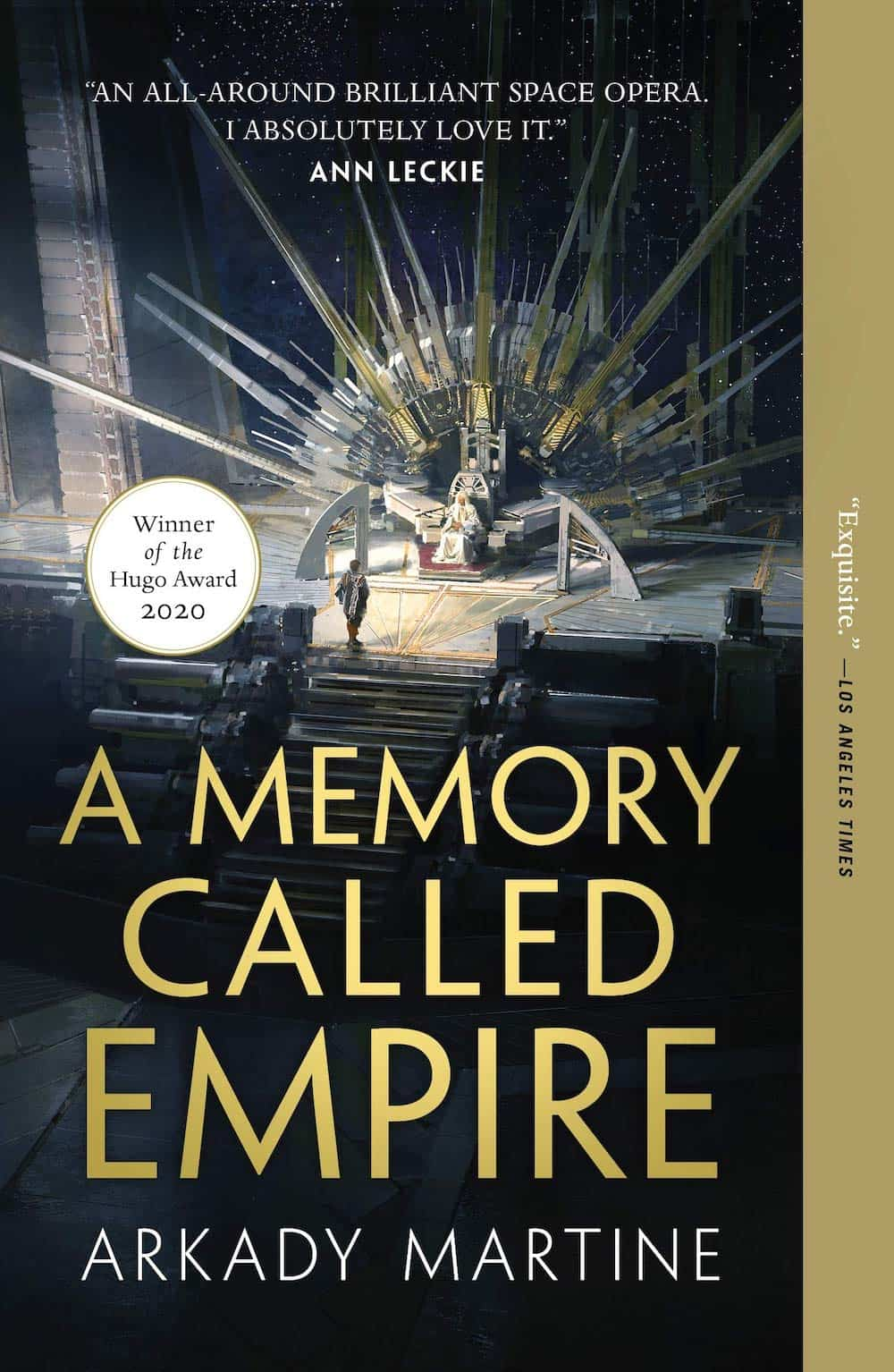 The cover of A Memory Called Empire