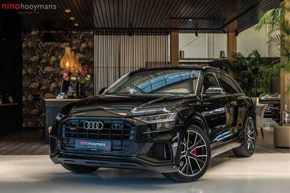Audi Q8 55 TFSI quattro 3x S-line | PANO | 4 wielsturing | Tour | Trekhaak | Matrix LED |