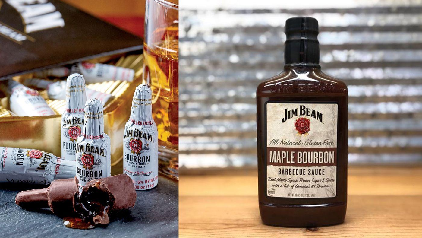 Jim Beam Chocolates & Sauce Collection